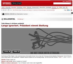 Screenshot eines vorbereiteten Handouts