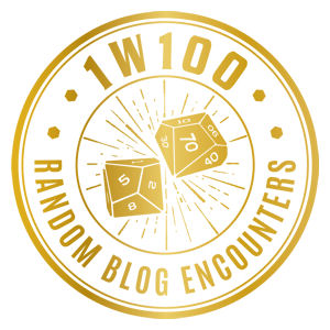Logo 1w100 Random Blog Encounters