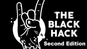 The Black Hack: Logo, Bildrechte liegen bei Gold Piece Publications